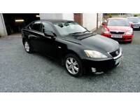 07 Lexus Is 220 Diesel 4 Door 6 Speed Half Leather Black CAN BE SEEN ANYTIME