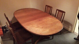 Expandle Table and Chairs. TOTALLY FREE! Cramlington.