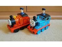 Thomas the tank engine push along trains