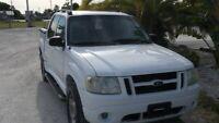 Miniature 11 Voiture Américaine d'occasion Ford Explorer Sport Trac 2004