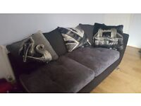 Sofa for sale. It is a corner sofa i use it seperately to create 2 seperate sofas