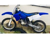 Yamaha YZ125 bike runs drives as it should very fast just had a recent rebuild please call down one