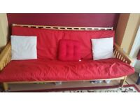 3 Seat Futon Sofa Bed - Reasonable Offer Welcome