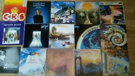 "18 x moody blues collection LP's / 12"" / tour progs / poster"