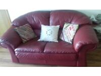 A two and a three seater sofa for quick sale