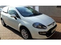 Fiat Punto Evo. Clean condition throughout, low miles 48k. MOT July 2018. Bluetooth