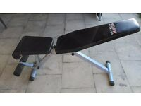 York 13 in 1 foldable bench