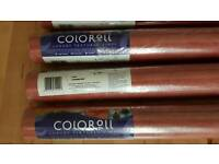 7 rolls of textured vinyl wallpaper