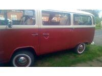 VW CAMPER BAY WINDOW TIN TOP