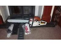 New petrol chainsaw