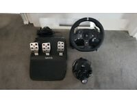 Logitech G920 Wheel, pedals and shifter - DROPPED PRICE