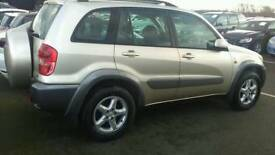TOYOTA RAV 4 AUTO 5 DOORS CLEAN IN AND OUT,LEATHER INTERIOUR>LONG M>OTTWO FRONT NEW TYRES
