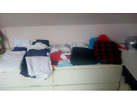 **MENS BARGAIN BUNDLE** mens clothing bundle - size large - includes a 2 piece suit