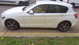 2011 BMW 1 series 2.0 5 door diesel White Low Miles,
