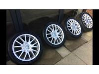Vw Golf Jetta Gt Alloy Wheels & tyres