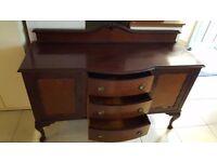 Vintage Mahogany Sideboard in Good Condition