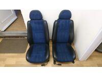 MGF MG TF MGTF Blue Alacatara Seats