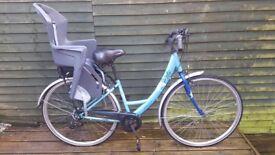 Ladies apollo bike and baby sit