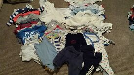 3-6 months baby clothes bundle