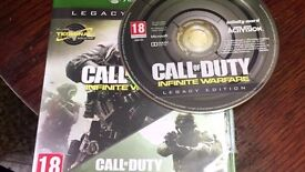 Call of duty infinite and mw remastered xbox one games on one disc