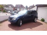MERCEDES ML 320 V6 AUTO 7 SEATERS GAS CONVERTED!