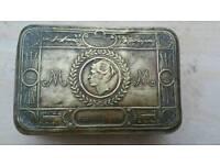 Antique British box 1914s