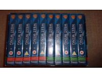 The West Wing Season 1 & 2 VHS Box Set Collectors