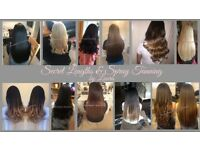 Insured & qualified hair extension technician. Home based & mobile in stourbridge & surrounding area
