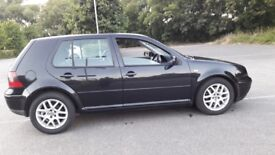 vw golf automatic, excellent condition