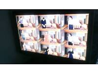 "37"" Samsung fhd tv with remote has freeview"