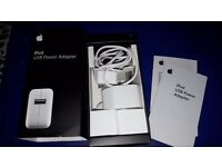 Ipod USB power adapter. Unused complete in box