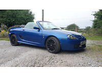 MG TF 1.8VVC 160bhp in Trophy Blue