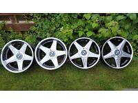 "18's Classic Wheels Alloys""AZEV/ATEV A""5X120 width J8,5&J10 VW T5 , BWM models"