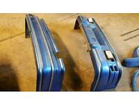 Ford Escort front and rear bumpers and body kit