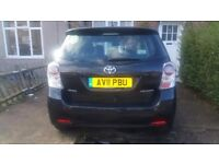 TOYOTA-VERSO 2011, 7 SEAT, 2.2,BLACK,PCO, DCAT, TSPIRIT 5dr, AUTOMATIC,
