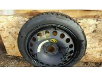 5 Stud Space Saver Wheel. 115 70 16. Very good condition