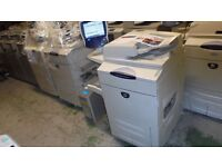 XEROX DOCUCOLOR DC 252 DC252 with EX260 RIP & Basic Finisher only 337k