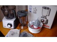 Bosch Multi-Talent Food Processor With Blender And Juicer Attachments