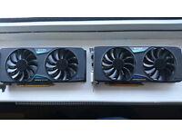 EVGA Nvidia 970 SC x2 Graphics Card (s)