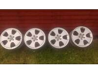 "Audi Vw Seat Skoda 17"" alloy wheels 5x112 fits most vag group cars."