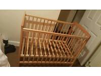 Mini baby cot no mattress