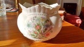 Aynsley Bone China Rose Bowl