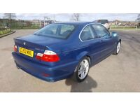 2003 BMW 330 3.0 CI BLUE MANUAL COUPE OUTSTANDING CONDITION