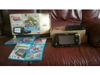 Zelda special edition wii u console and games