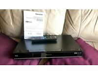 Panasonic-DMR-PWT530EB Smart 3D Blu-ray Player 500GB HDD Recorder, Twin HD Tuner