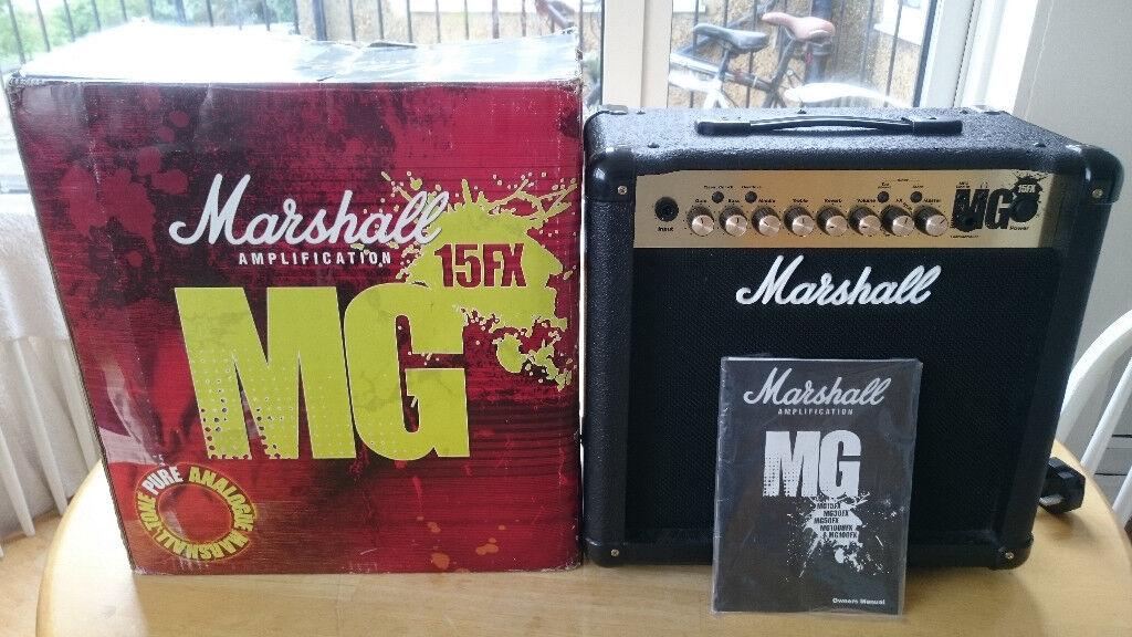 MARSHALL MG15FX - BOX AS NEW