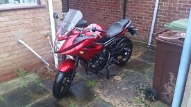 Great bike for sale. Damaged fairings, but otherwise in good condition.
