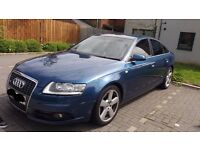 This A6 S Line has heated leather S Line seats , remote locking, climate control and much more....
