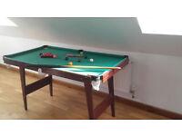 Junior Snooker Pool Table - £15