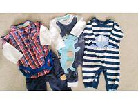 Baby Boy bundle clothes 3-6 months
